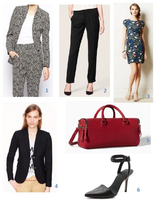 Business Casual Collage Pic
